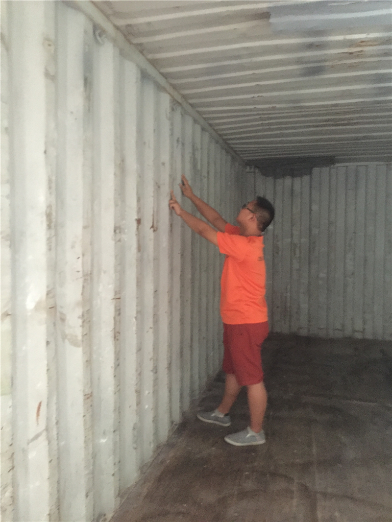 Container checking