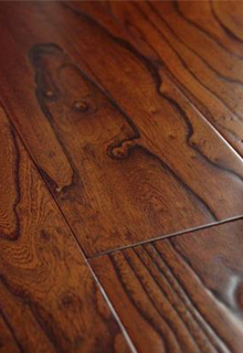 Embossed 3 Ply Engineered Elm Wood Flooring
